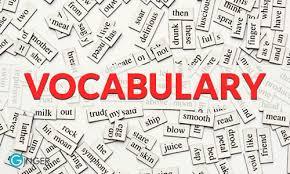 Lexis (Vocabulary) 2A 2021 - 2022